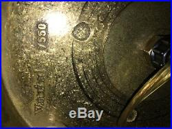 1980's Vintage Waterford Comeragh Crystal Ginger Jar Lamp Set Of 2/ Fab