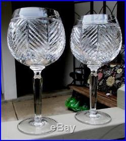 2 Pristine Ralph Lauren Herringbone Birdbath Goblets 8 3/4 3 sets Available