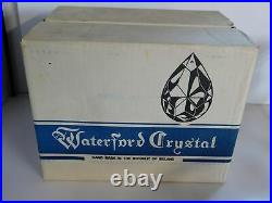 6 Waterford Crystal Ireland Colleen 7 1/2 Hock Wine Goblets Original Box Set #1
