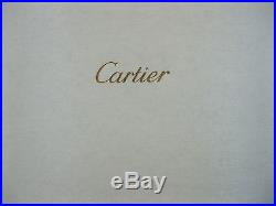 A set of 4 Cartier CrystalDanse De Feu Champagne FlutesPresentation BoxMINT
