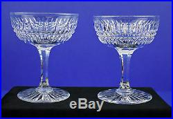 Antique ABP Pairpoint Cut Leaded Crystal Sherbet / Champagne Glasses Set of 8
