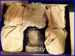 Artel Horses Engraved Fine Bohemian Crystal Glasses G-2129 Set of 6 New in box