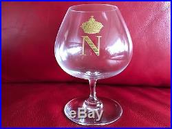 Baccarat Crystal Napoleon Brandy Sniffers, 4 5/8, set of 6