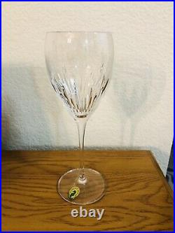 Beautiful Set Of 4 Waterford Crystal Southbridge 9 1/8 Wine Glasses New In Box