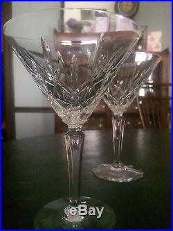 Brand new Gorham Lady Anne Cocktail Martini glasses-set of four