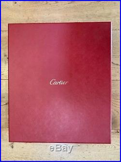 Cartier champagne and glasses gift set