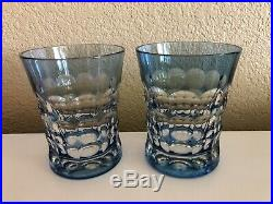 Christian LaCroix Crystal Tumblers- Mint Set Of 10 In Five Different Colors
