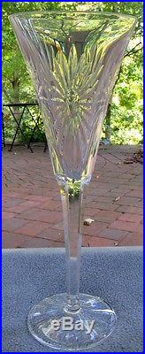 Complete Set SIX Different Themed Waterford Crystal Millennium Flutes