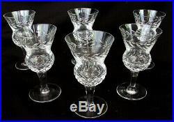 Edinburgh Thistle Cordial Glasses Liquor Wine Glasses Set Of 6