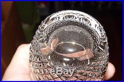 Estate Set Of 12 Signed Waterford Crystal Colleen Tumbler Rocks Glasses # 21