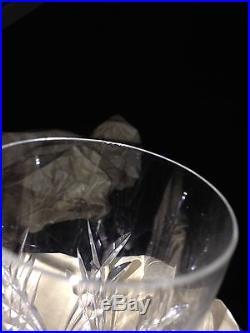 Fantastic Set of Baccarat Massena Crystal Champagne Flutes 10 Total