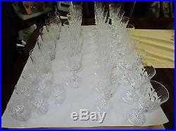 Galway Irish Crystal Set 33 pieces