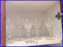 Hardwick Stuart England Full Set crystal glassware