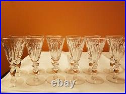 Hawkes 5 3/8 Claret Wine Glasses Set of 12