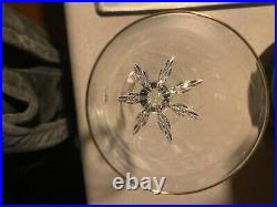 Lenox Firelight Gold Crystal Set