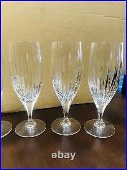 Mikasa Arctic Lights Crystal Iced Tea Glasses Set of 14