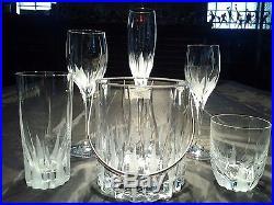 Mikasa Flame D'Amore Crystal Glassware 21 pc Set