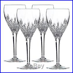 NEW Royal Doulton Crystal Highclere Goblet Set 4pce