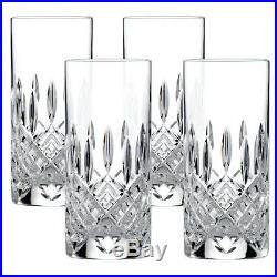 NEW Royal Doulton Crystal Highclere Highball Set Of 4