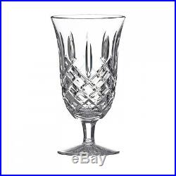 NEW Waterford Crystal ARAGLIN Set of FOUR (4) Iced Beverage Glasses