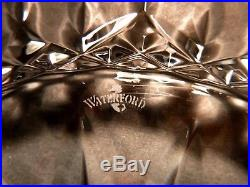 NEW Waterford Crystal LISMORE (1957-) Set 6 Luncheon Accent Plates 8 IRELAND