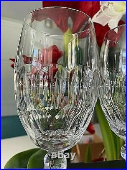 NIB Set/2 Waterford Crystal Curraghmore Iced Beverage Glasse Retired Retail $200