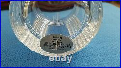 New Ralph Lauren Lead Crystal Glen Plaid 4 Double Old Fashioned Glassware Set