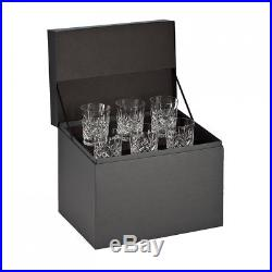 New Waterford Lismore Double Old Fashion, Set Of 6