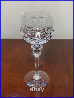 New withLabels Set of 6 Vintage GALLIA by ROGASKA Tall Crystal Wine Hocks Goblets