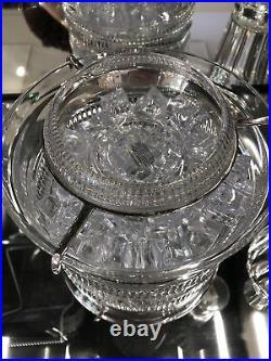 Ralph Lauren Broughton Crystal Caviar Set
