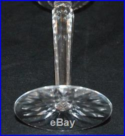 Rare Stefan Irish Crystal Set Of 20 Wine Glasses Water Goblets Cathedral Pattern