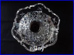 Rare VINTAGE Waterford Crystal C1 CANDELABRA Set of 2 Candlestick Holder 10