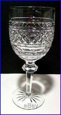 Rare VINTAGE Waterford Crystal CASTLETOWN (1968-) Set 6 Water Goblets 7 5/8
