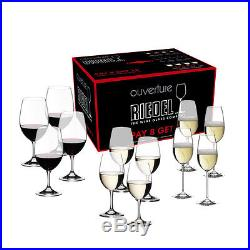 Riedel Ouverture Set of 12 Red and White Wine Glass