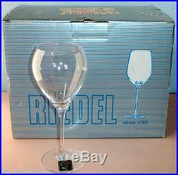 Riedel Sommelier Sauternes Dessert Wine Glass 6 Piece Set #400/55 Boxed New