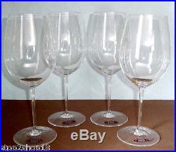 Riedel Sommeliers Bordeaux Grand Cru Wine SET/4 Glasses #400/00 New In Box