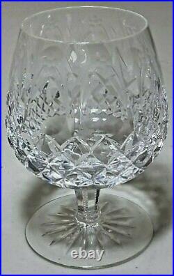 Rogaska Gallia Crystal Brandy Goblet Snifters Glasses SET OF 5