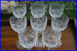 Rogaska Queen Crystal Wine Hock Glass 8 Set 8