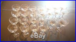Rosenthal Studio Line Crystal Wine glass set, 50 pieces, discontinued