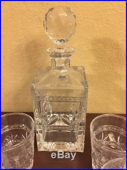 Royal Limited Whiskey Set Decanter And 8 Glasses