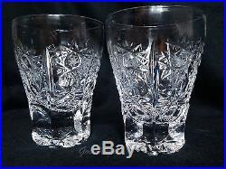 Russian Elite Cut Crystal Liqueur, Vodka Decanter & 6 Shot Glasses Set of 6+1