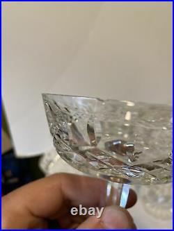 SET 10 Waterford 4 1/8 LISMORE CUT CRYSTAL CHAMPAGNE SHERBET GLASSES + 1 extra