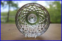Set 8 Rogaska Cut Glass Gallia Hock Wine Glasses