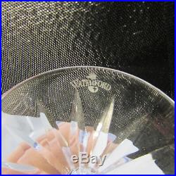 SET OF SIX Waterford Crystal CLARENDON COBALT Hock Wine Glasses