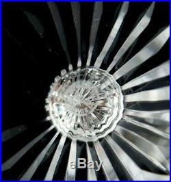 Saint Louis Tommy Water Goblet Glasses Set of 6 Vintage Elegant Crystal France