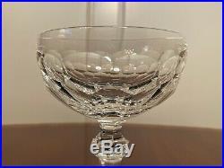 Set 12 True Vintage WATERFORD CRYSTAL Curraghmore Champagne Wine Sherbet Glasses