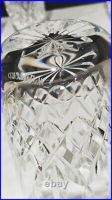 Set-4 Waterford Lismore 12oz Crystal Highball Glass Tumblers 5