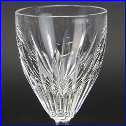 Set 7 Waterford Cut Irish Crystal CARINA Pattern Claret White Wine Glasses RVH