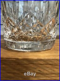 Set 8 Waterford Lismore Crystal Old Fashioned Glasses, 8/9 Oz. Excellent