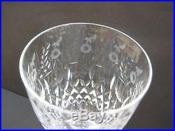 Set Of 2 Rogaska Gallia Water Goblets Glasses, 9 1/4 Tall X 3 1/2 Diameter